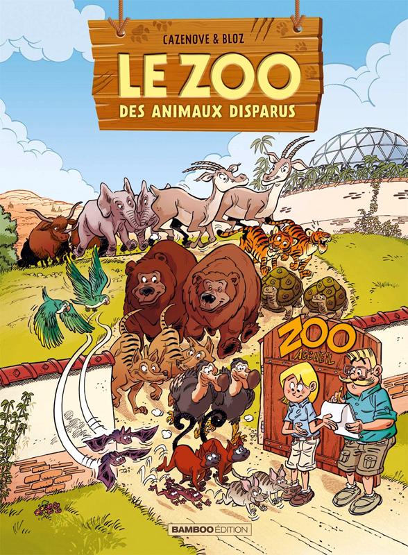 Le Zoo des animaux disparus T2, bd chez Bamboo de Cazenove, Bloz, Bonino