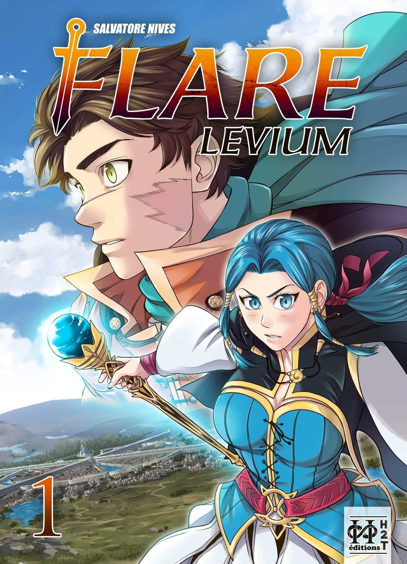 Flare Levium T1, manga chez H2T de Nives