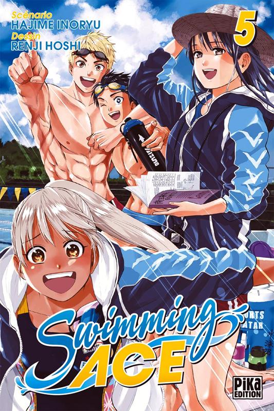 Swimming ace T5, manga chez Pika de Inoryu, Hoshi