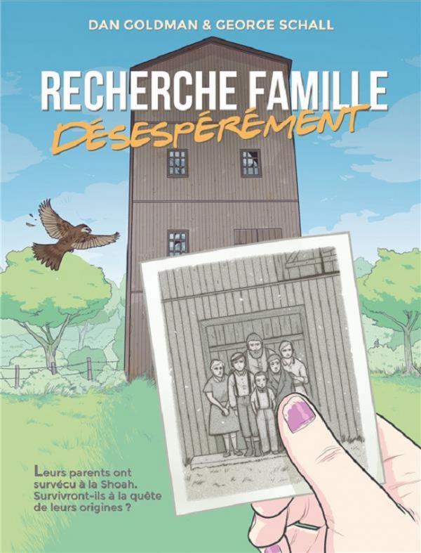 Recherche famille désespérément, comics chez Les Humanoïdes Associés de Goldman, Schall