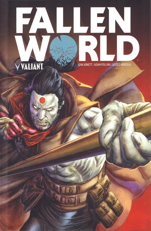 Fallen World, comics chez Bliss Comics de Abnett, Pollina, Juan Jose Ryp, Arreola, Dalhouse, Braithwaite