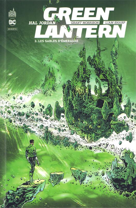 Hal Jordan : Green Lantern  T2 : Les sables d'émeraude (0), comics chez Urban Comics de Morrison, Sharp, Oliff