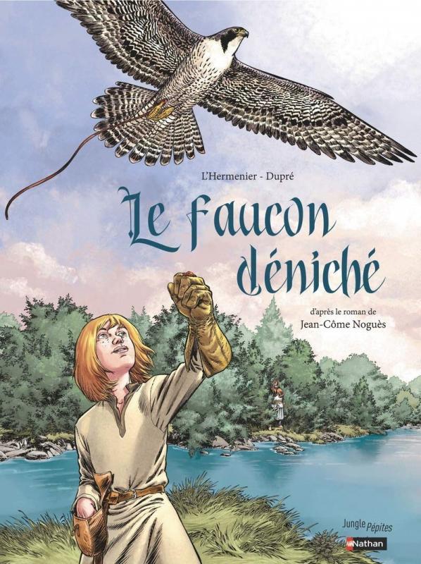 Le Faucon Déniché, bd chez Jungle de L'Hermenier, Dupré, Gamboa
