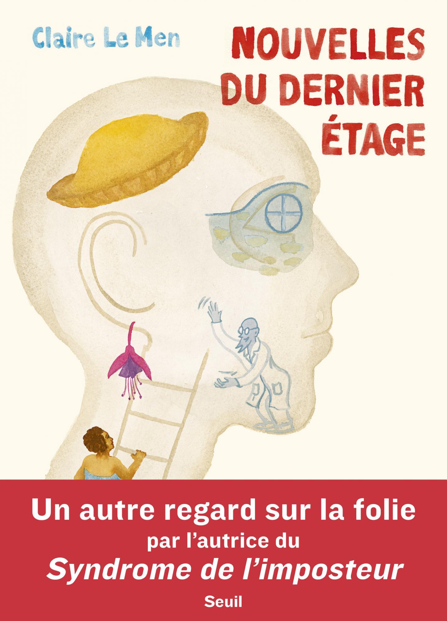Nouvelles du dernier étage, bd chez Seuil de Le Men