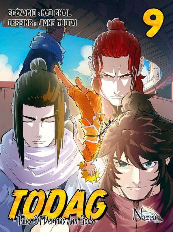 Todag - Tales of demon and gods T9, manga chez Nazca de Mad snail, Ruotai