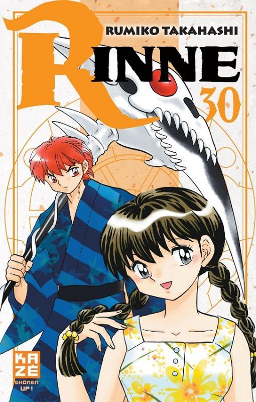 Rinne T30, manga chez Kazé manga de Takahashi