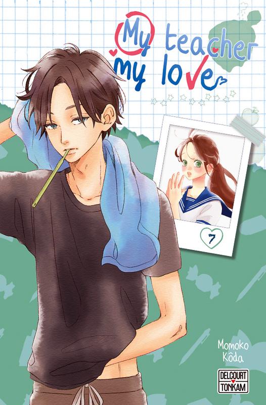 My teacher, my love T7, manga chez Delcourt Tonkam de Koda