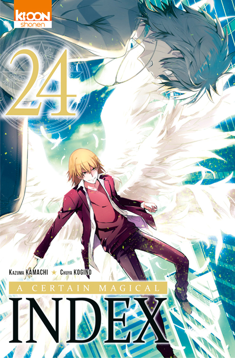 A certain magical index T24, manga chez Ki-oon de Kamachi, Kogino