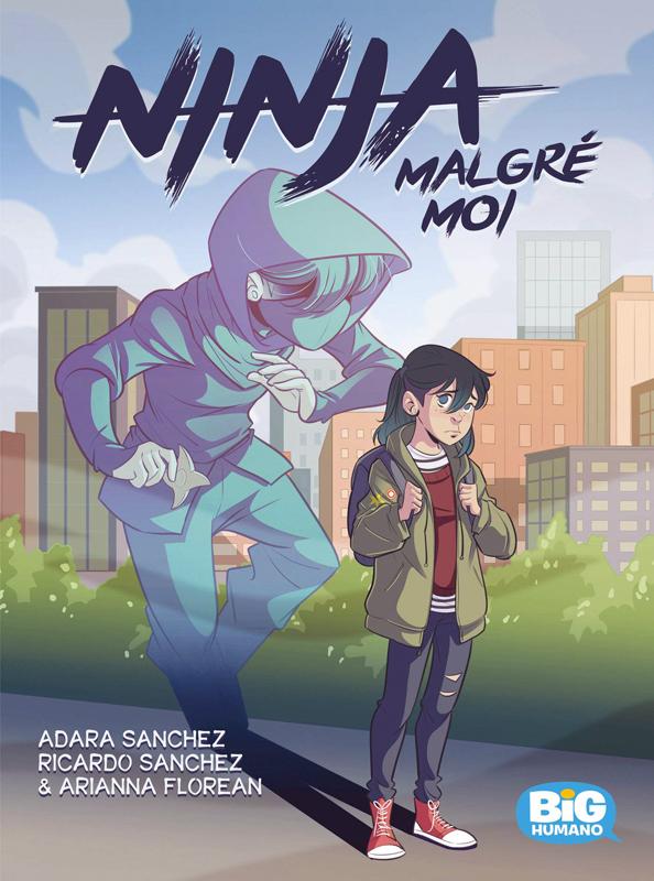 Ninja malgré moi, comics chez Les Humanoïdes Associés de Sanchez, Sanchez, Florean