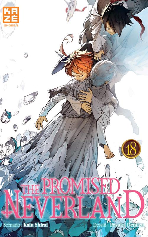 The promised neverland T18, manga chez Kazé manga de Shirai, Demizu