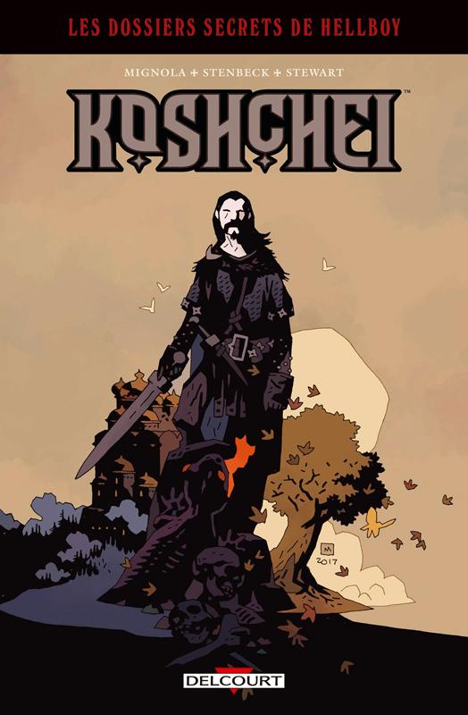 Hellboy : Dossiers secrets T2 : Koshchei (0), comics chez Delcourt de Mignola, Stenbeck, Stewart