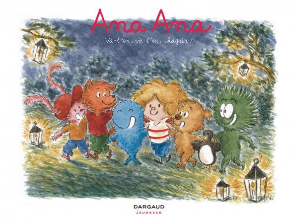 Ana Ana T17 : Va-t'en, va-t'en, chagrin ! (0), bd chez Dargaud de Roques, Dormal