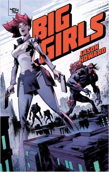 Big Girls T1, comics chez 404 éditions de Howard
