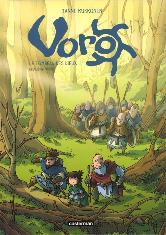 Voro T8 : Le Tombeau des Dieux 2/3 (0), bd chez Casterman de Kukkonen, Bazot