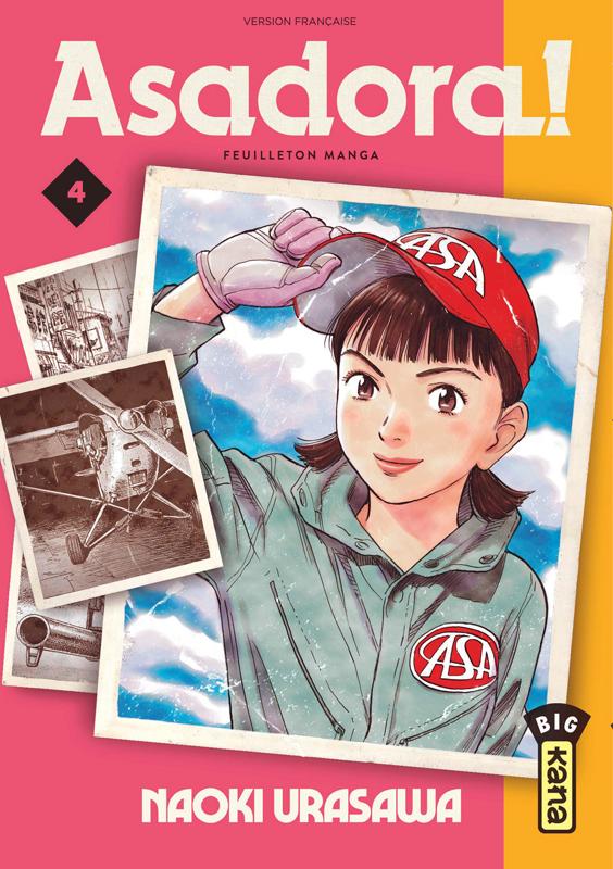 Asadora ! T4, manga chez Kana de Urasawa