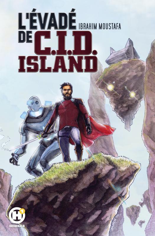 Evadé de CID Island, comics chez Les Humanoïdes Associés de Moustafa