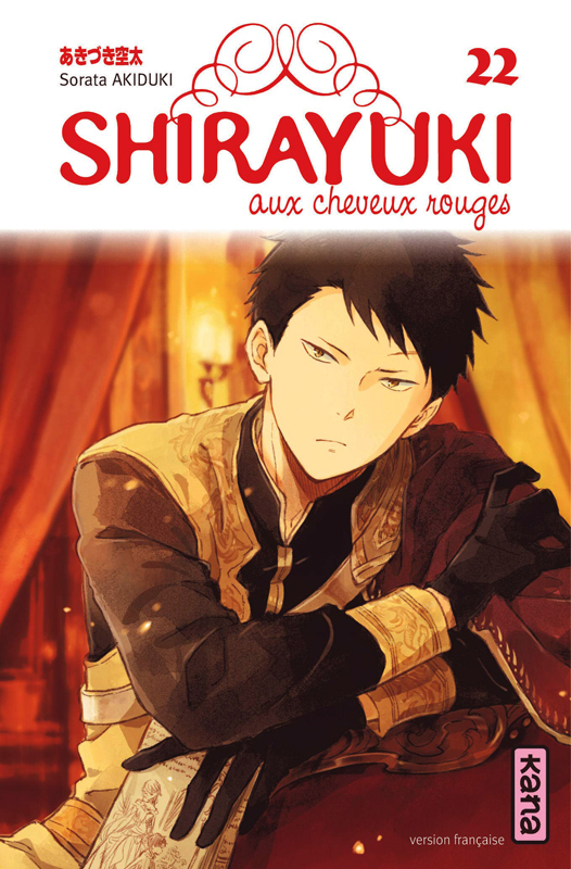 Shirayuki aux cheveux rouges T22, manga chez Kana de Akizuki
