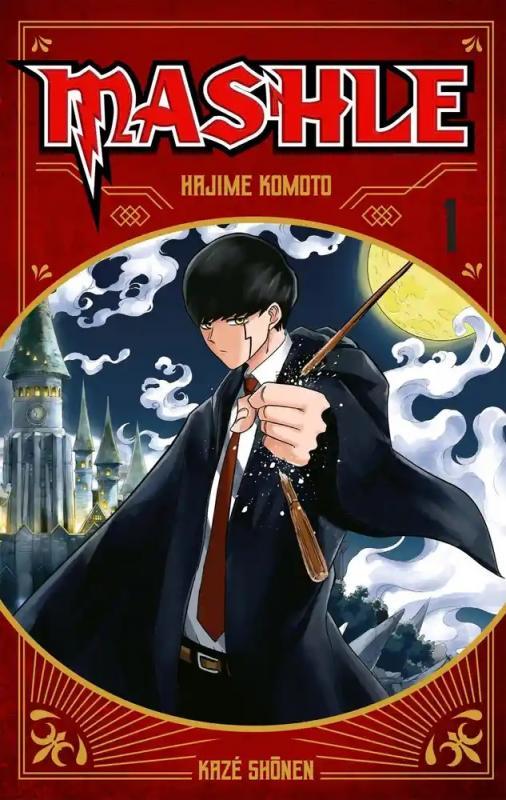 Mashle T1, manga chez Kazé manga de Kômoto