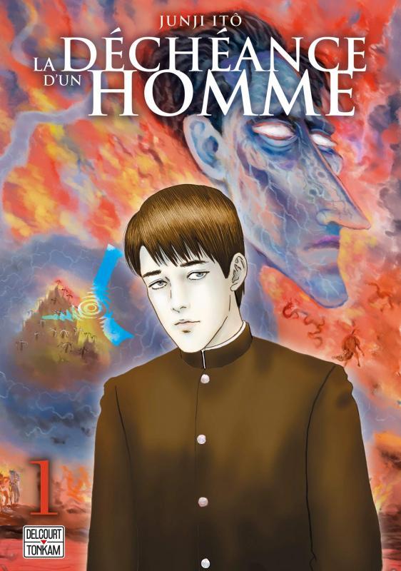 La déchéance d'un homme  T1, manga chez Delcourt Tonkam de Dazai, Ito
