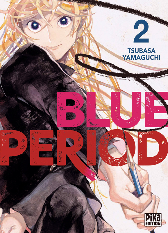 Blue period T2, manga chez Pika de Yamaguchi