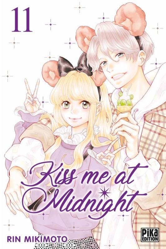 Kiss me at midnight T11, manga chez Pika de Mikimoto