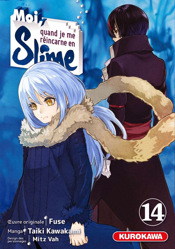 Moi, quand je me réincarne en slime T14, manga chez Kurokawa de Fuse, Kawakami