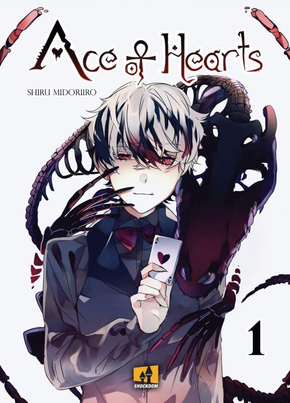 Ace of hearts T1, manga chez Shockdom de Midoriiro