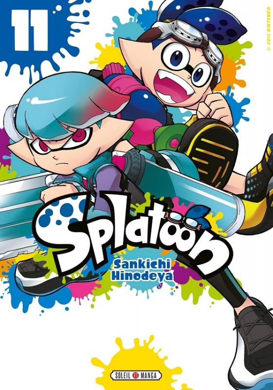 Splatoon T11, manga chez Soleil de Hinodeya