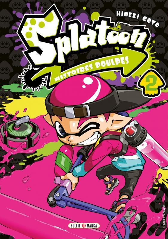 Splatoon Histoires poulpes T2, manga chez Soleil de Gotô