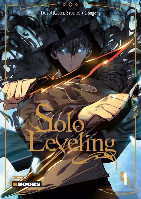 Solo leveling T1, manga chez Delcourt Tonkam de Chucong, Dubu - Studio Redice