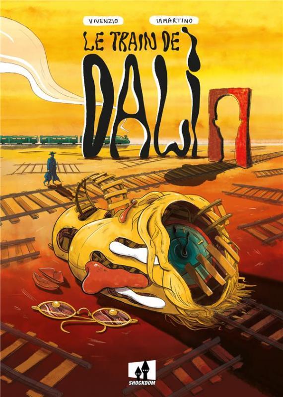 Le Train de Dalí, bd chez Shockdom de Vivenzio, Lamartino