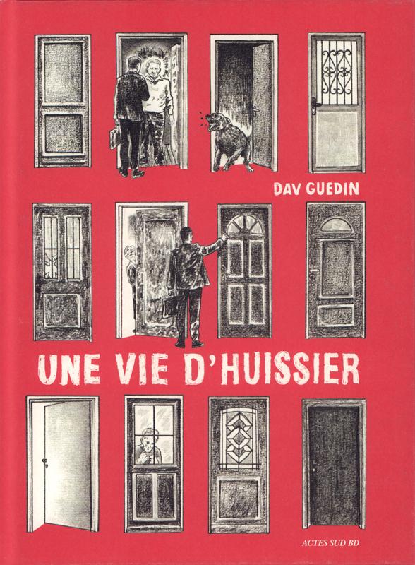 Une vie d'huissier, bd chez Actes Sud BD de Guedin