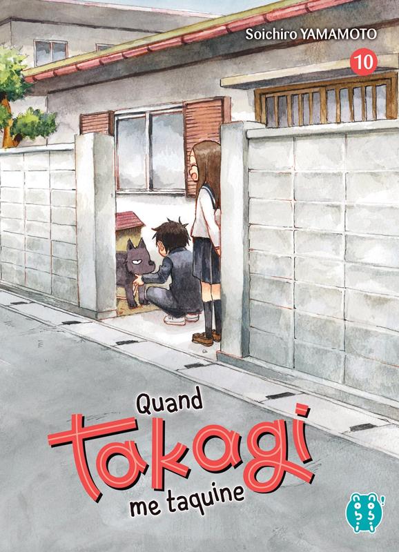 Quand Takagi me taquine T10, manga chez Nobi Nobi! de Yamamoto