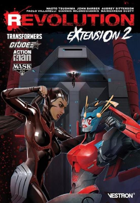 Revolution: Extension T2, comics chez Vestron de Bunn, Scott, Barber, Sitterson, Villanelli, Milonogiannis, Tsushima, Bove, Kindzierski, Dai-XT, Christiansen