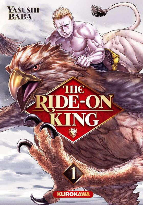 The ride-on king T1, manga chez Kurokawa de Baba