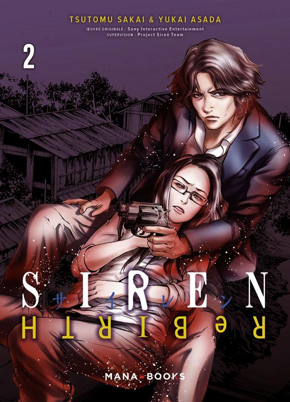 Siren ReBIRTH T2, manga chez Mana Books de Sakai, Asada
