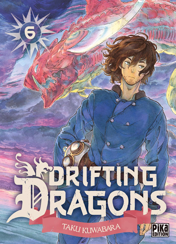 Drifting dragons T6, manga chez Pika de Kuwabara