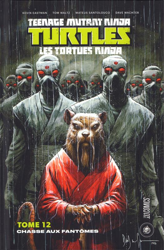 Les Tortues Ninja - TMNT - Teenage Mutant Ninja Turtles T12 : Chasse aux fantômes (0), comics chez Hi Comics de Eastman, Curnow, Waltz, Watcher, Santolouco, Pattison
