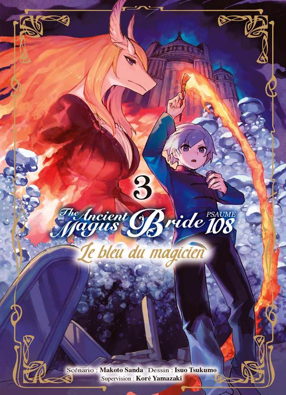 The ancient magus bride - Psaume 108 - Le bleu du magicien T3, manga chez Komikku éditions de Sanda, Yamazaki, Tsukumo