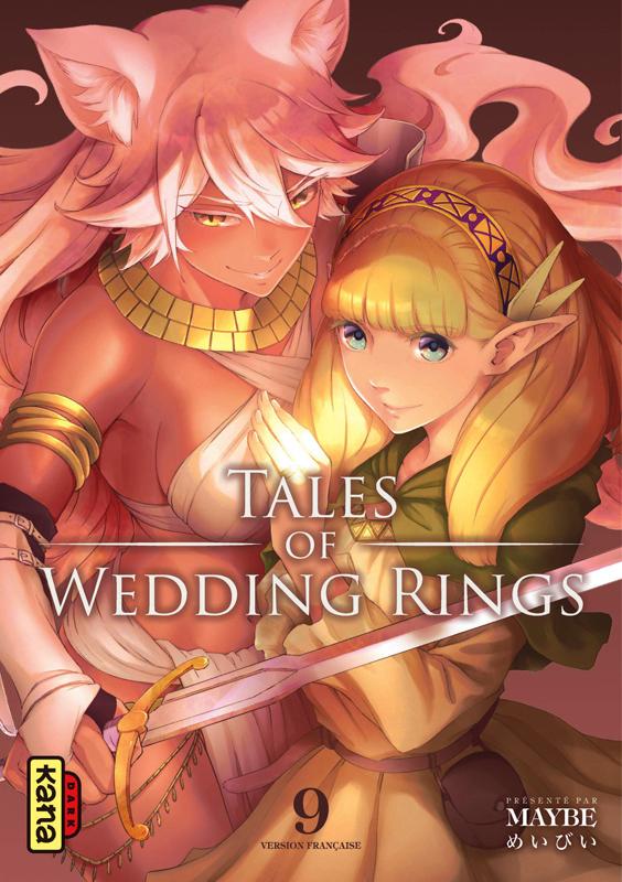 Tales of wedding rings T9, manga chez Kana de Maybe