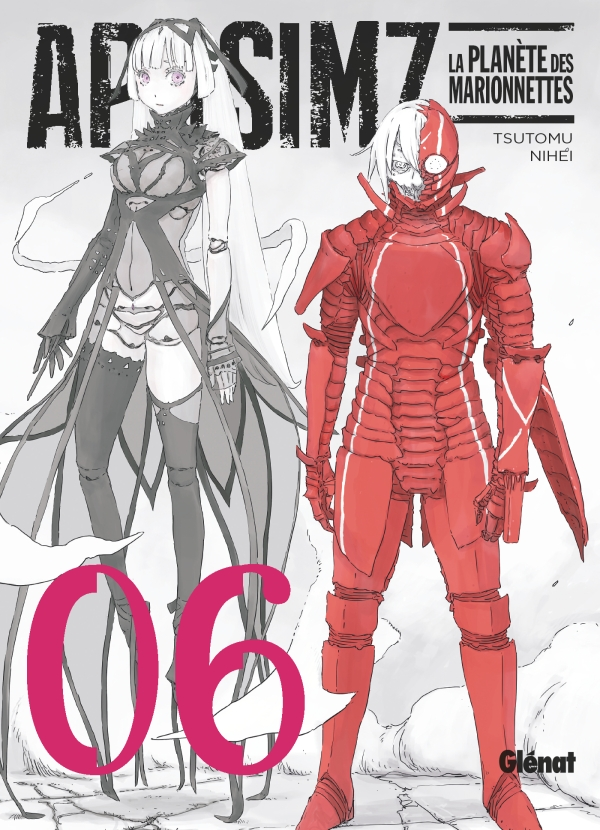 Aposimz T6, manga chez Glénat de Nihei