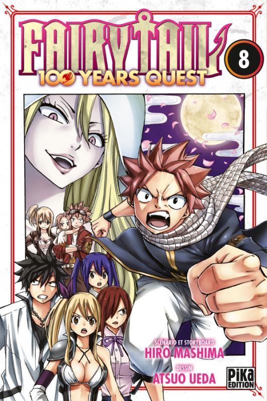 Fairy tail 100 years quest T8, manga chez Pika de Mashima, Ueda