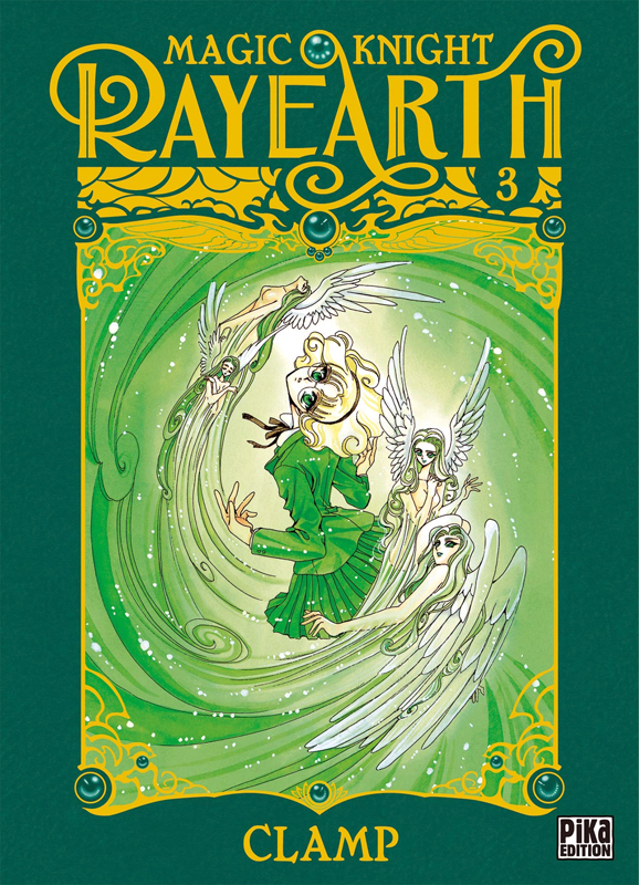 Magic knight rayearth T3, manga chez Pika de Clamp