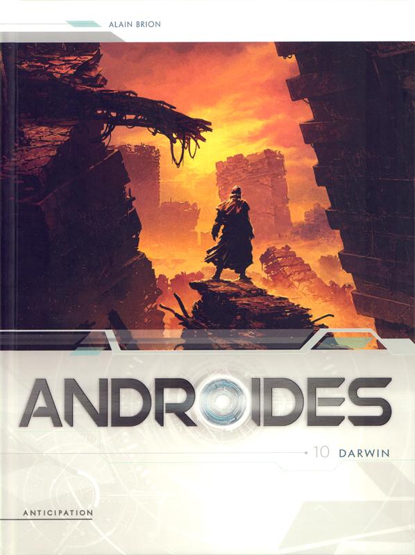 Androïdes T10 : Darwin (0), bd chez Soleil de Brion