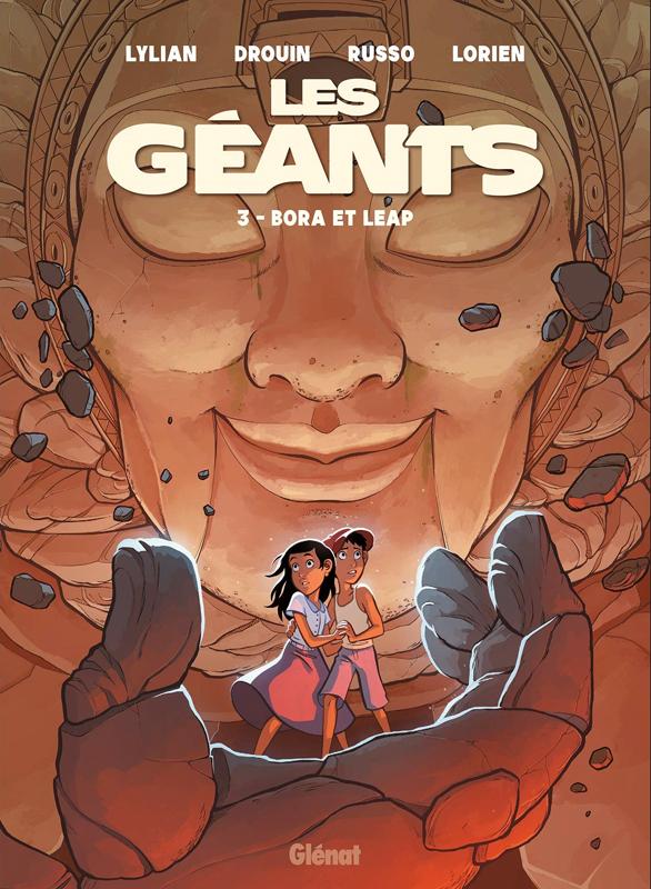 Les Géants T3 : Bora et Leap (0), bd chez Glénat de Lylian, Russo, Drouin, Lorien, Mobidic