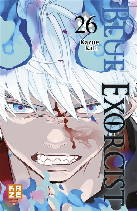 Blue exorcist T26, manga chez Kazé manga de Kato