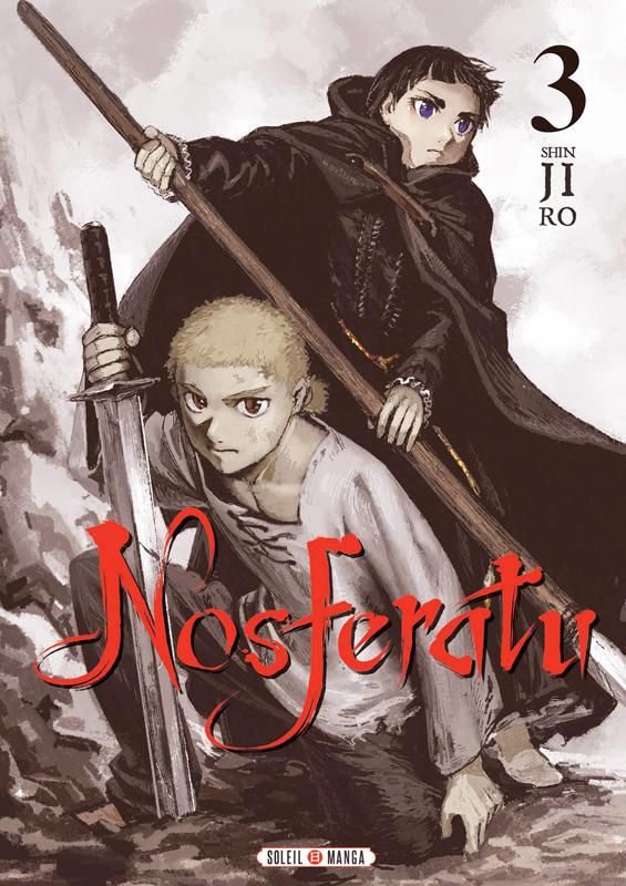 Nosferatu T3, manga chez Soleil de Shinjirô