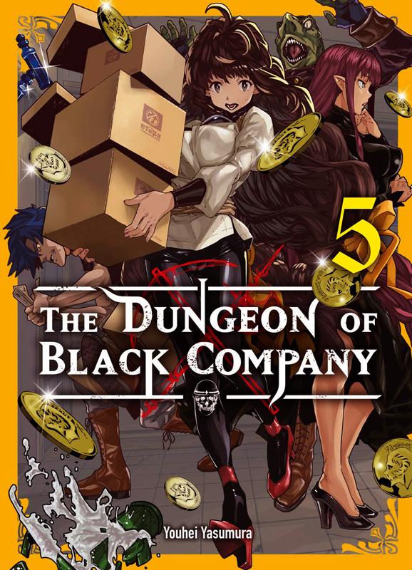 The dungeon of black company T5, manga chez Komikku éditions de Yasumura