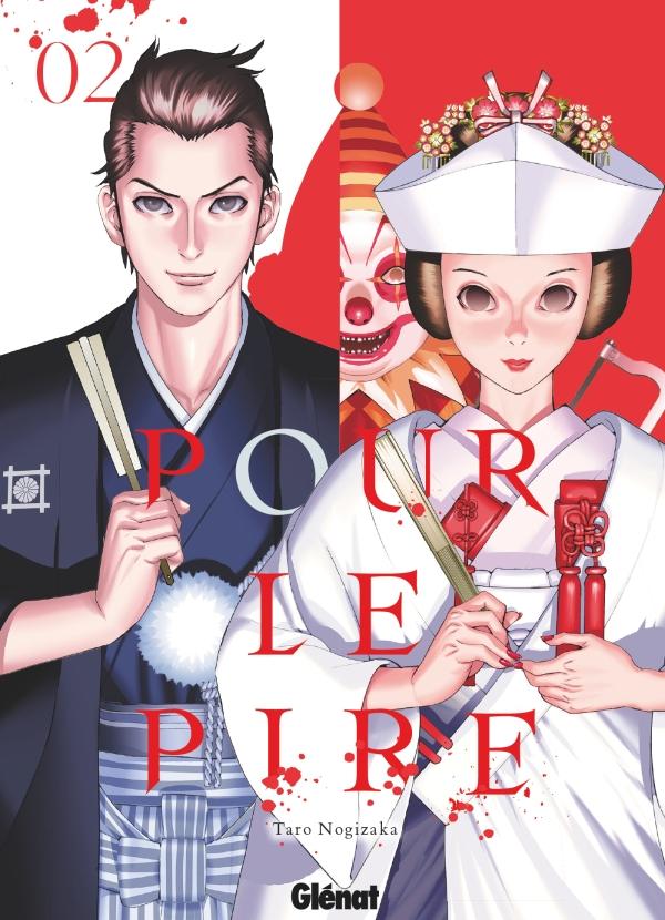 Pour le pire T2, manga chez Glénat de Nogizaka