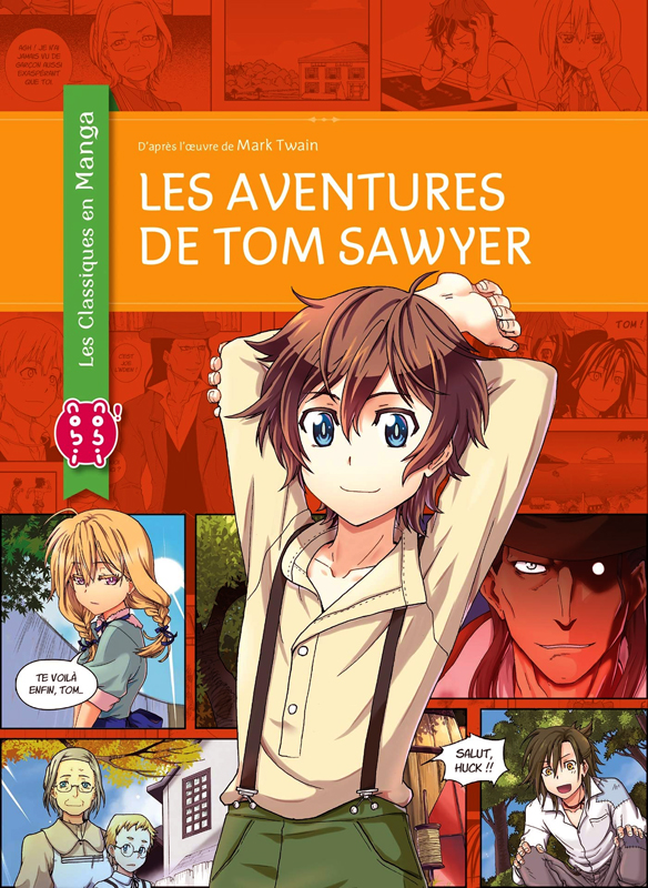 Les aventures de Tom Sawyer, manga chez Nobi Nobi! de Chan, Twain, Chan